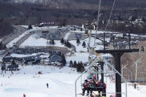 ski trip à Vermont na 2a semana de março